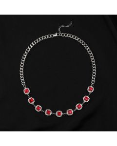 Ruby Cuban Link Chain
