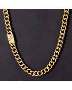 10mm Lion Buckle Cuban Chain