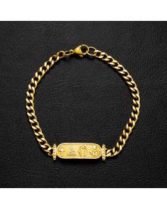 5mm Egyptian Cuban Bracelet