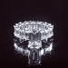 2.8 Ct Emerald Cut Ring